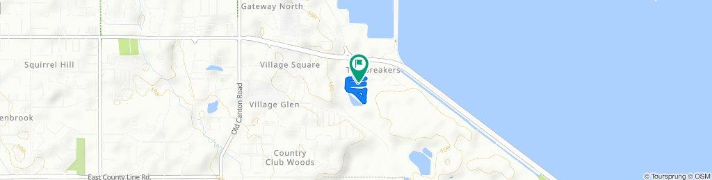854 Pine Trail Dr, Ridgeland to 856 Pine Trail Dr, Ridgeland