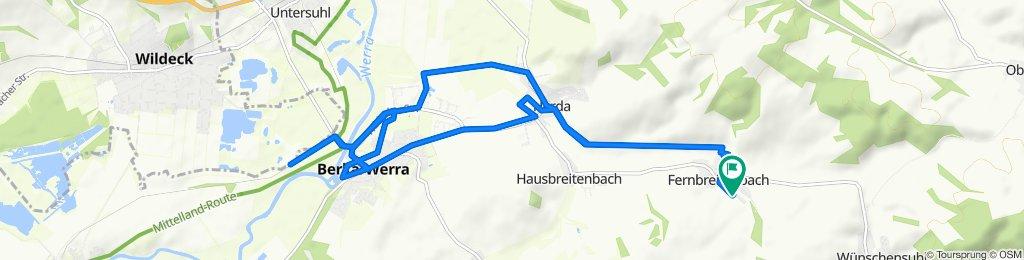 Landersstraße 14A, Berka/Werra nach Landersstraße 14A, Berka/Werra