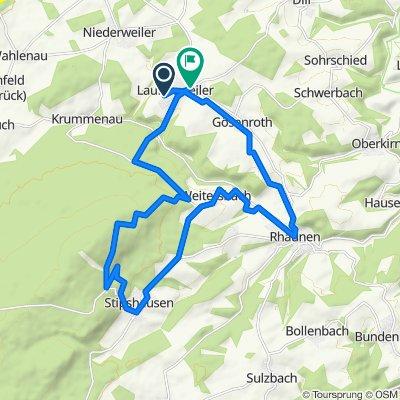 Niederweiler Weg 20, Laufersweiler nach Provinzialstraße 15, Laufersweiler
