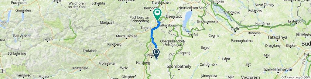 L237 17, Oberschützen nach Wiener Neustadt Hbf