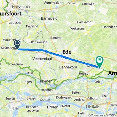 Rumelaarseweg 46–50, Woudenberg to Bilderberglaan 5, Oosterbeek