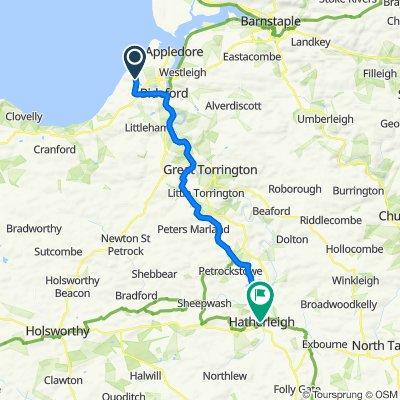 Westward to Hatherleigh