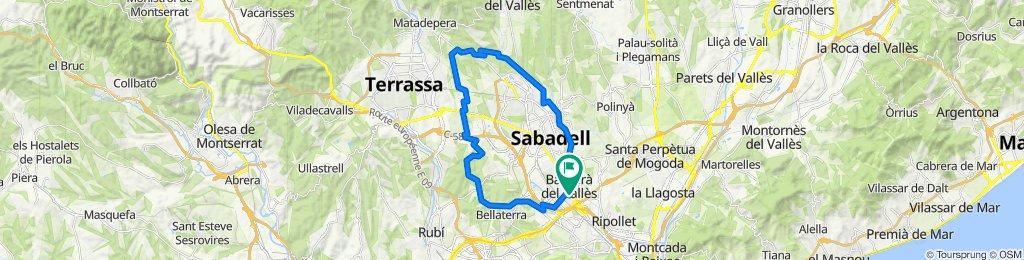 Barberà Terrassa Castellar Sabadell Barberà #35Km