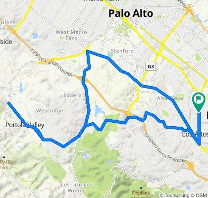 10 Alma Ct, Los Altos to 5 Alma Ct, Los Altos