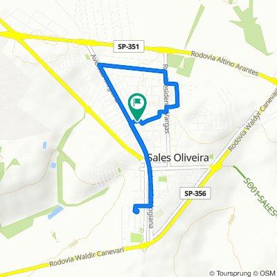 De Rua Reinaldo Orsi, 1–109, Sales Oliveira a Rua Reinaldo Orsi, 1–109, Sales Oliveira
