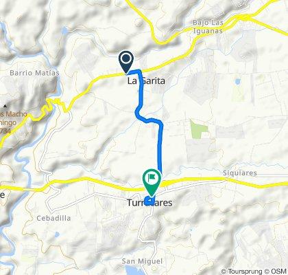 De 3, Garita District, Alajuela a Turrúcares