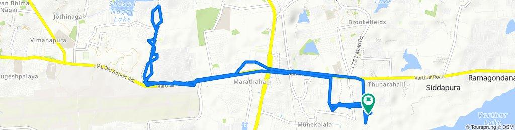 HAL Road -29th Aug 2020