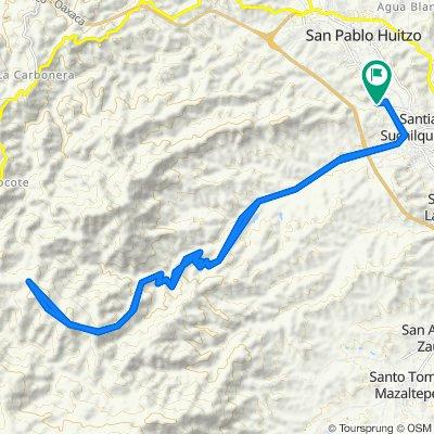 De Río Blanco 12, Santiago Suchilquitongo a Río Blanco 12, Santiago Suchilquitongo