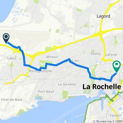 De 22 Rue Élie Barreau, La Rochelle à 38 Avenue des Cordeliers, La Rochelle