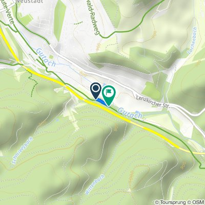 Kapfweg 2A, Titisee-Neustadt nach Kapfweg, Titisee-Neustadt