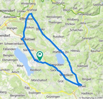 Neuwiesenstrasse 25, Uster nach Neuwiesenstrasse 25, Uster
