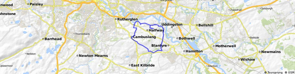 Training Route 2 Cambuslang