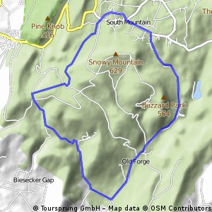Old Forge to South Mtn Training Loop