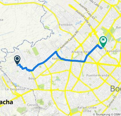 De Bogotá a Avenida Calle 26 59-41, Bogotá