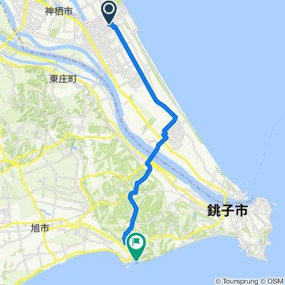 4-chōme 8, Kamisu to Asahi