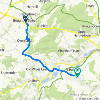 6 Colonels Lane, Faversham to 18–24 Laurel Way, Canterbury