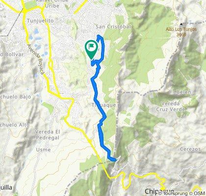 De Carrera 10 Este 55-61, Bogotá a Carrera 10 Este 5560, Bogotá
