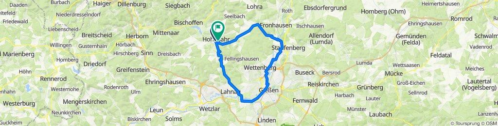 Vorderstraße 6, Hohenahr nach Am Beerengraben 21, Hohenahr