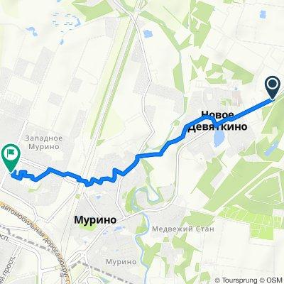 От Завод до улица Шувалова 6, Санкт-Петербург