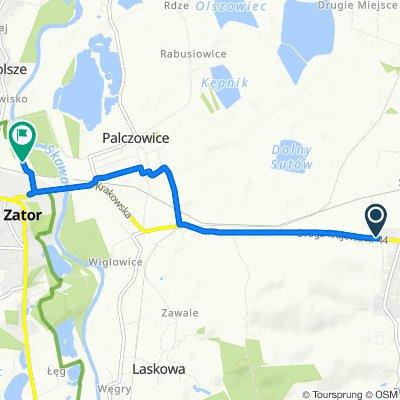 Trasa z Dworska, Spytkowice