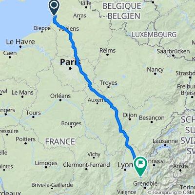 2–4 Route de Nempont, Conchil-le-Temple naar 1805 Route de la Vallée, Saint-Ondras
