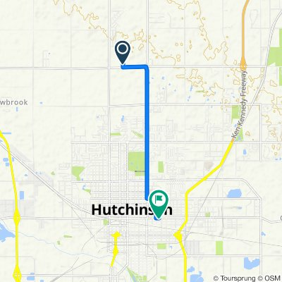 Yucca Road 5616, Hutchinson to East 4th Avenue 722, Hutchinson