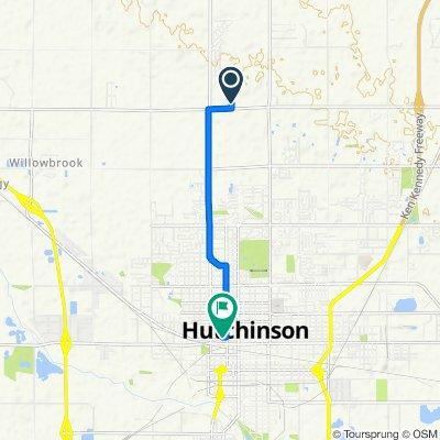 Yucca Road 5616, Hutchinson to Hutchinson