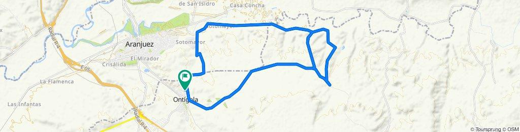 De Calle Júcar 4, Ontígola a Calle Júcar 4, Ontígola