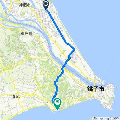 4-chōme 8, Kamisu to 1228-3, Asahi