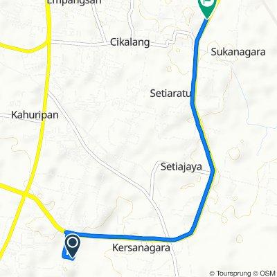 Jl. Padjadjaran, Tamansari to Jalan Letjen Mashudi 77a, Kecamatan Cibeureum