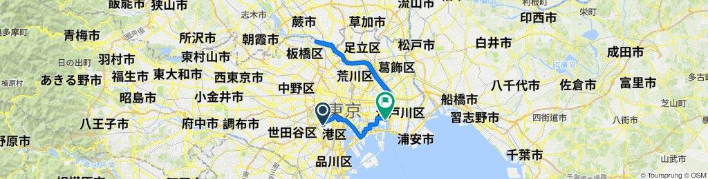1-29, Hiroo 4-Chōme, Shibuya-Ku to 6-31, Shinsuna 3-Chōme, Koto-Ku