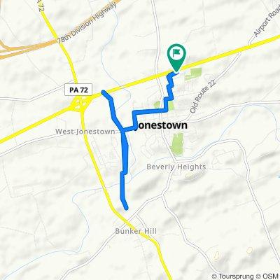 Lighthouse Drive 121, Jonestown to Lighthouse Drive 121, Jonestown