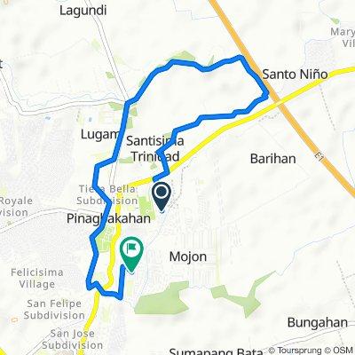 San Miguel Drive, Malolos to Masipag Street 5430, Malolos