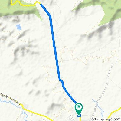 Hadapsar - Saswad - Jejuri Road to Saswad