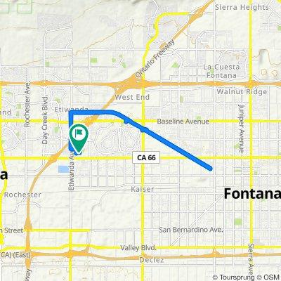 7951 Etiwanda Ave, Rancho Cucamonga to 7951 Etiwanda Ave, Rancho Cucamonga