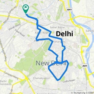 my home, tri nagar, Delhi to Delhi