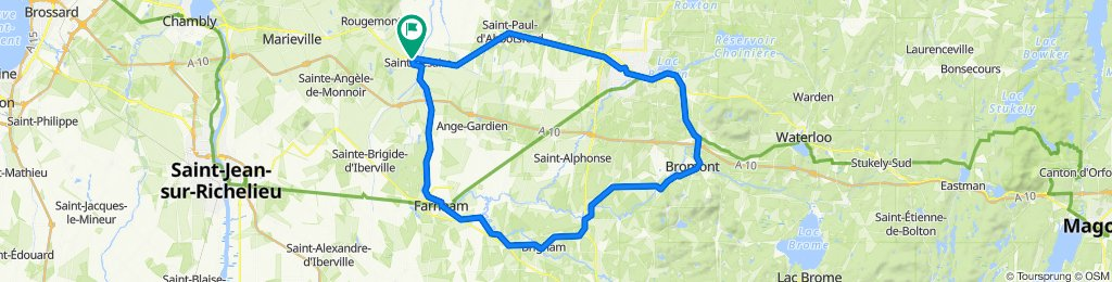 2020 Rte 112, Saint-Césaire to 2020 Rte 112, Saint-Césaire