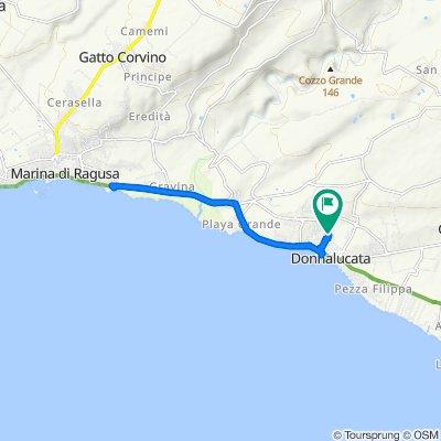 Da Viale Altamura 301, Donnalucata a Viale Altamura 301, Donnalucata