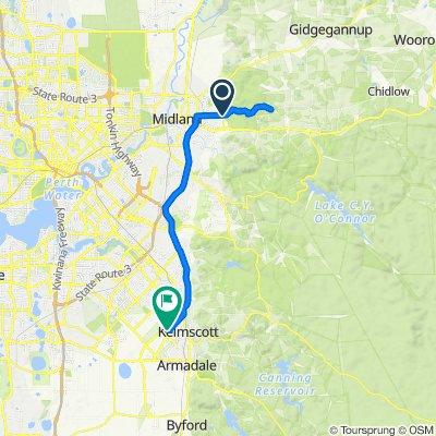 Pechey Road, Swan View to 34–50 Dorney Esplanade, Champion Lakes
