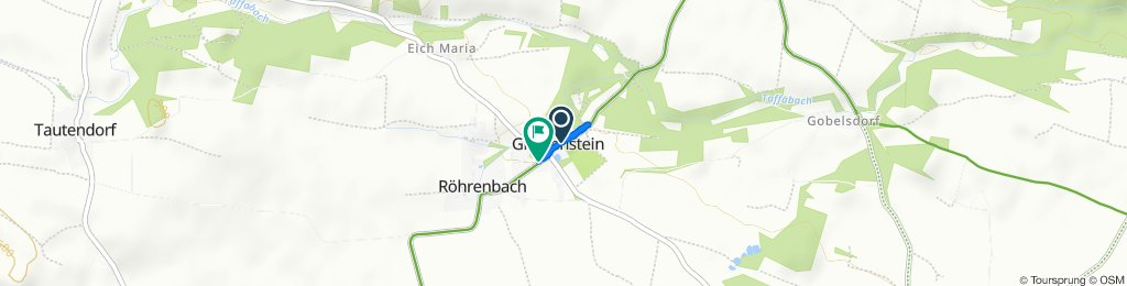 Greillenstein 8, Röhrenbach nach Greillensteinerstraße 15, Röhrenbach