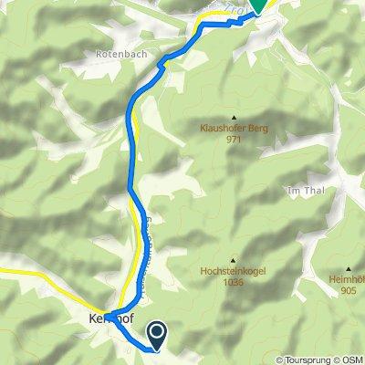 Thalerl 41, Kernhof nach Alte Landstraße 1, Sankt Aegyd am Neuwalde