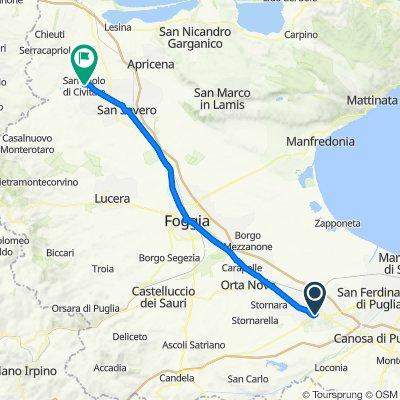 Kr16a Cerignola - San Paolo di Civitate