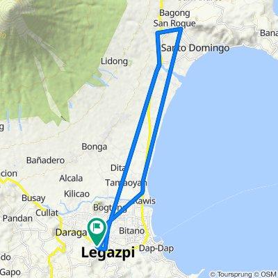 Rizal Avenue 1032, Legazpi City to Sagpon Bridge No 2 1056, Legazpi City