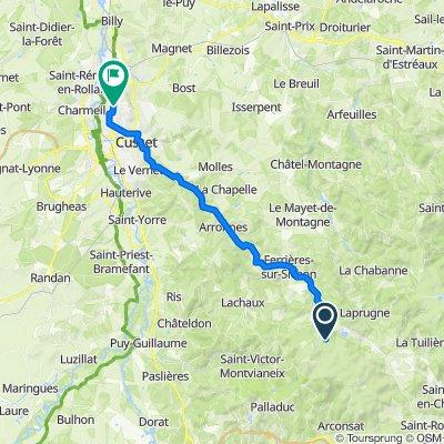 Chabreloche Cycling