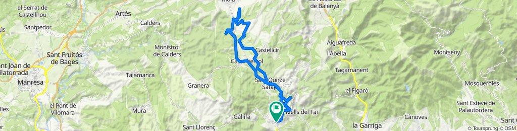 De BP-1241 1B, San Felíu de Codinas a Carrer Rocafort 1a, Sant Feliu de Codines