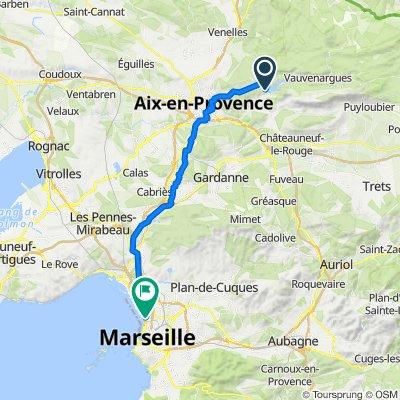 Itinéraire vers 222 Boulevard de Paris, Marseille