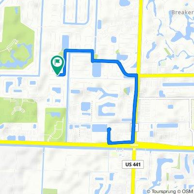 1141 Grandview Cir, Royal Palm Beach to 1140 Grandview Cir, Royal Palm Beach