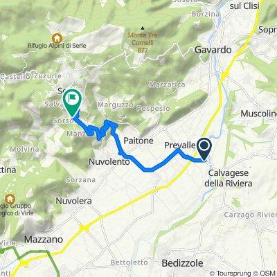 От Via Fucine, Ponte Clisi до Piazza Don Pietro Boifava 6, Magrena