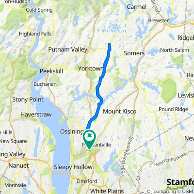 N County Trailway, Briarcliff Manor to 995 Bedford Rd, Pleasantville
