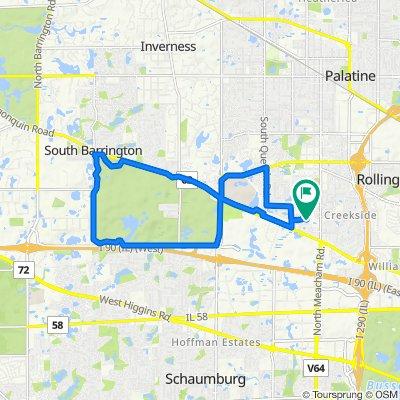 1261–1277 Olde Farm Rd, Schaumburg to 1304 Pine Valley Dr, Schaumburg